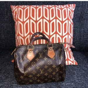 Authentic  Louis Vuitton speedy 25 handbag